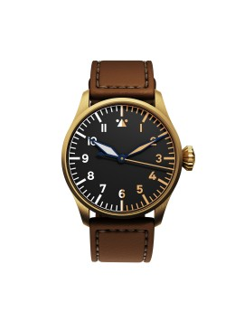DEKLA Pilot watch 40 mm Type A Bronze CuSn8