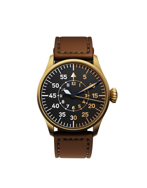 DEKLA Pilot watch 40 mm Type B Bronze CuSn8
