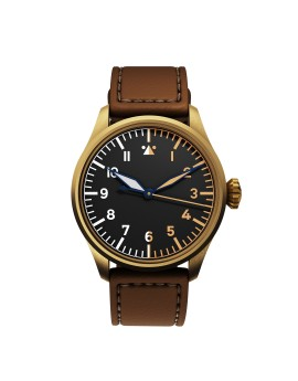 DEKLA Pilot watch 42 mm Type A Bronze CuSn8