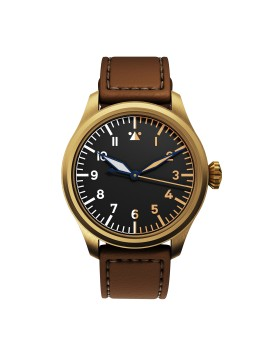 DEKLA Pilot watch 44 mm Type A Bronze CuSn8