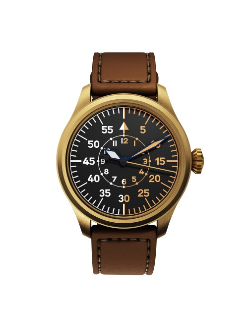DEKLA Fliegeruhr 44 mm Type B Bronze CuSn8