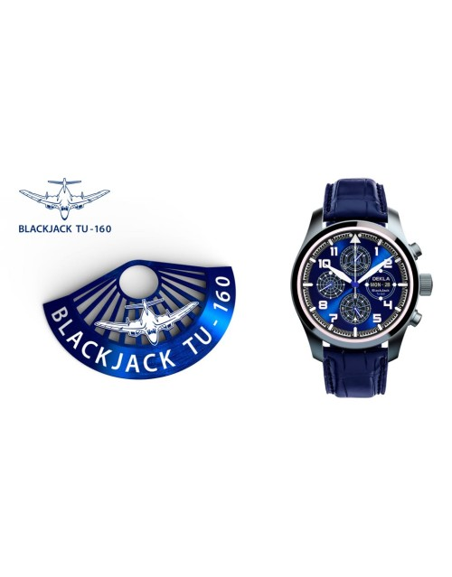 DEKLA BlackJack Tu160 ETA 7750 Valjoux Limited Edition
