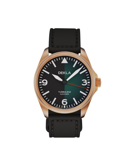 DEKLA Turbulenz 42mm v.1 Bronze CuSn8