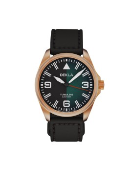 DEKLA Turbulenz 42mm v.2 Bronze CuSn8